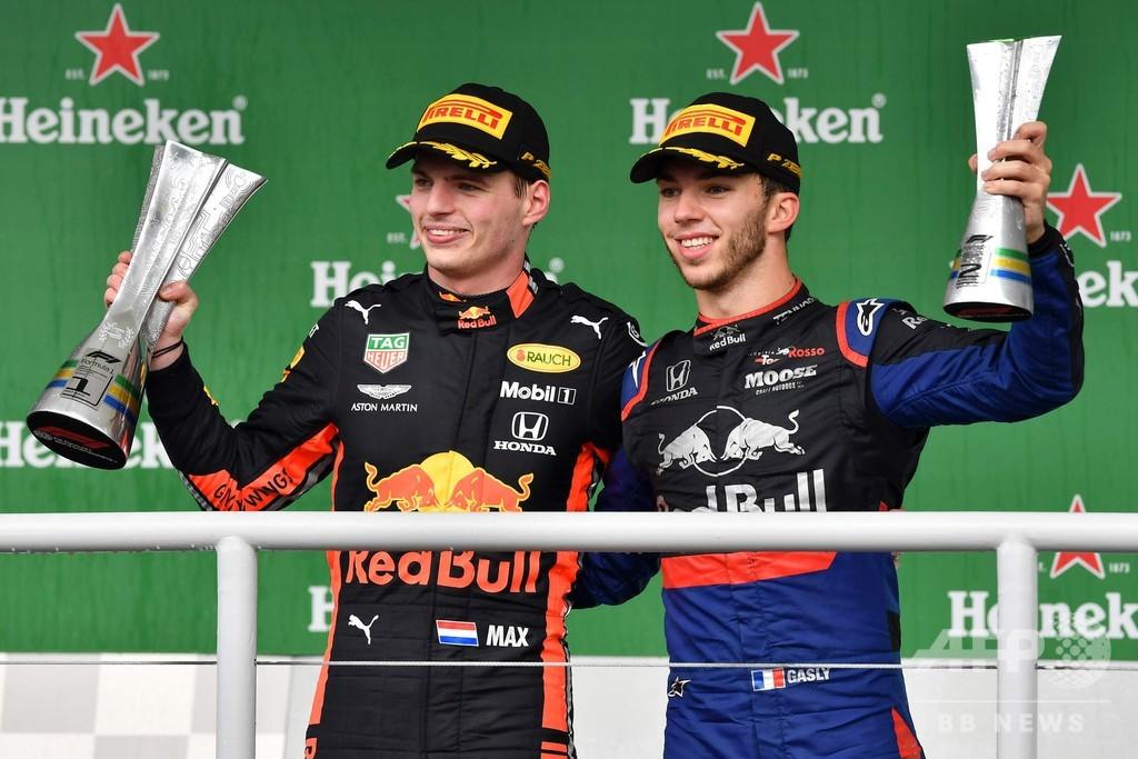 フェルスタッペンがブラジルGP優勝、ガスリー2位でホンダ勢ワンツー
