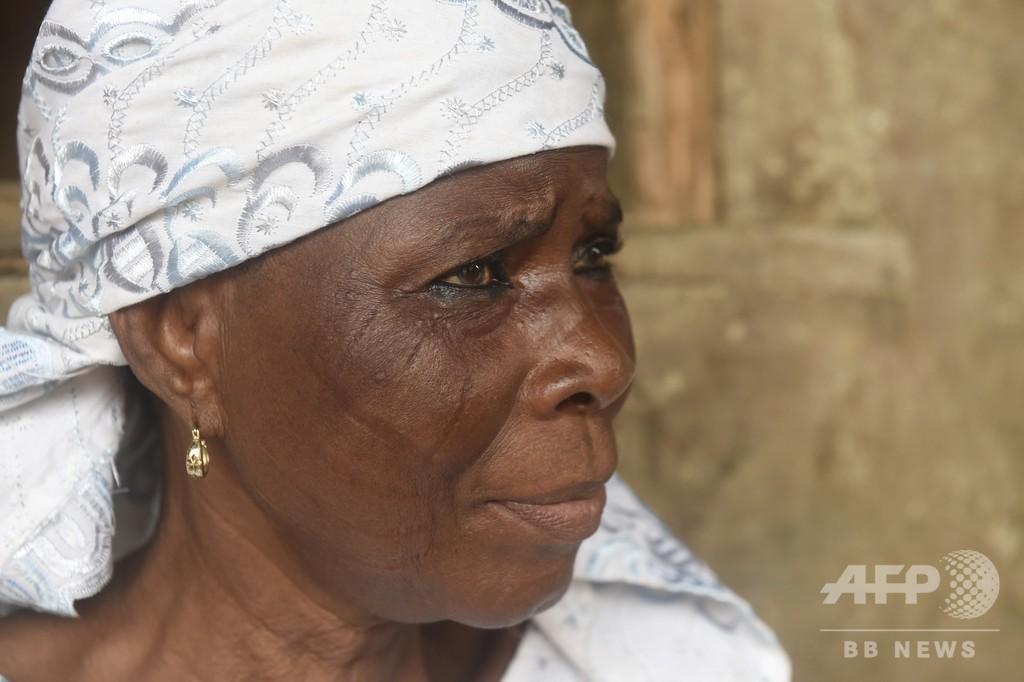 顔に傷をつける「部族の印」、伝統は廃れるのか ナイジェリア