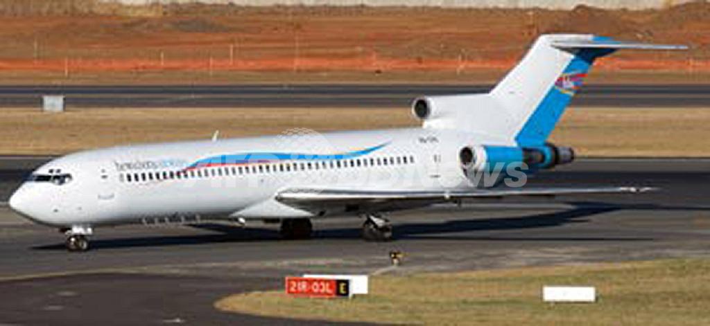 コンゴで旅客機墜落、74人死亡