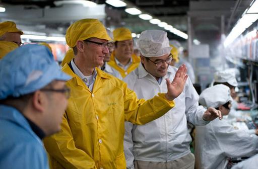 中国のアップル下請け工場、「労働環境劣悪」と報告