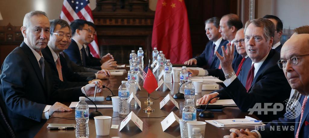 中国、対米輸入増と知財保護への協力強化で米国と合意