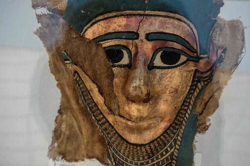 ミイラ製作場の遺跡から発見の考古遺物、エジプトで展示