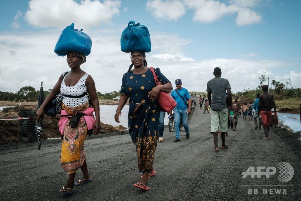 支援物資の横流しで3人逮捕、サイクロン被害のモザンビーク