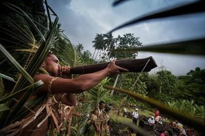自然と伝統舞踊の祭典、仏領ポリネシア