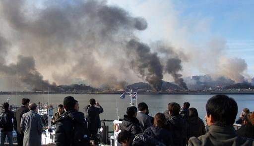 北朝鮮が声明、「砲撃は韓国の責任」