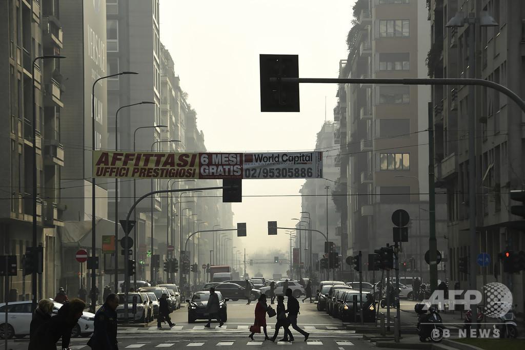 大気汚染、新型コロナ致死率を押し上げる可能性 欧州専門家