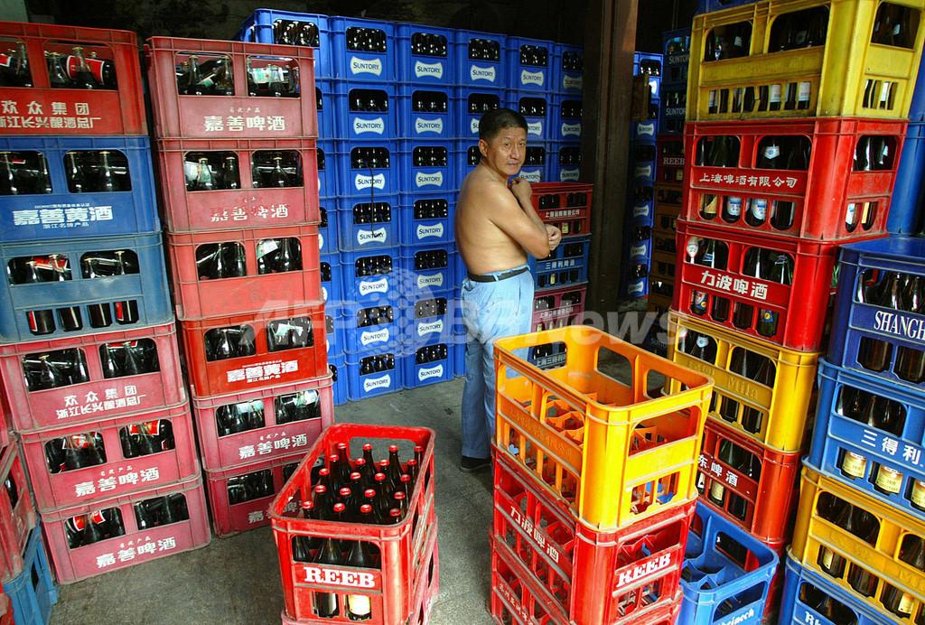 ビール消費10年で2倍、中国