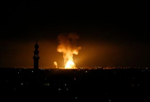ガザからロケット弾250発、イスラエルも反撃 パレスチナの幼児ら4人死亡