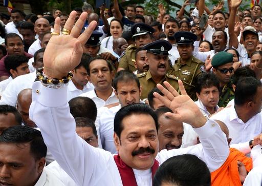 スリランカ、議会再開へ 2人の「首相」めぐり信任投票も