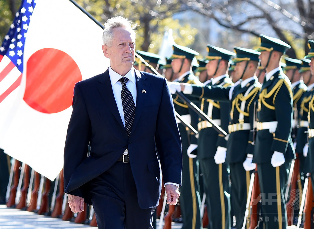 中国、マティス米国防長官の「尖閣は日米安保範囲」に警告