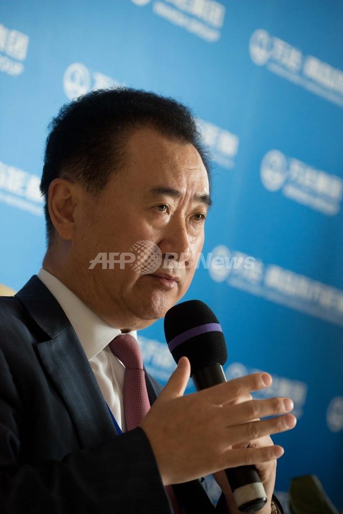 中国一の大富豪、「中国版ハリウッド」を建設へ