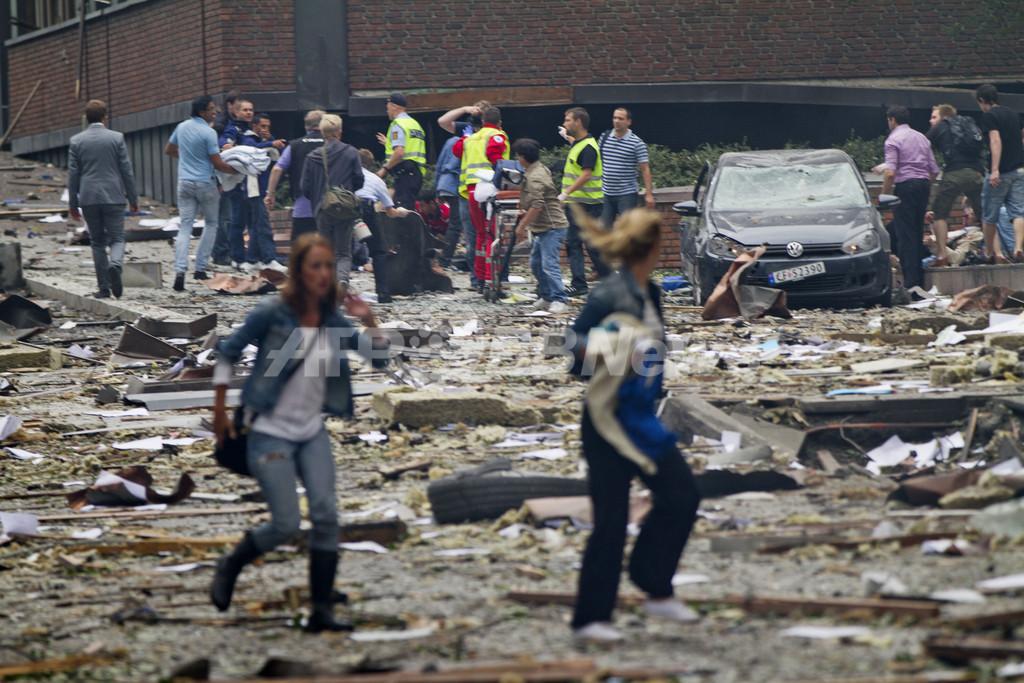 ノルウェーで爆発と銃撃、ノルウェー人容疑者を逮捕