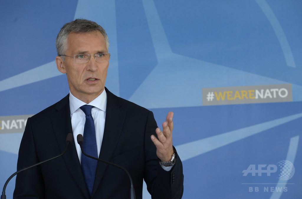 北朝鮮の「無謀な」ミサイル発射に「世界規模での対応を」、NATO事務総長