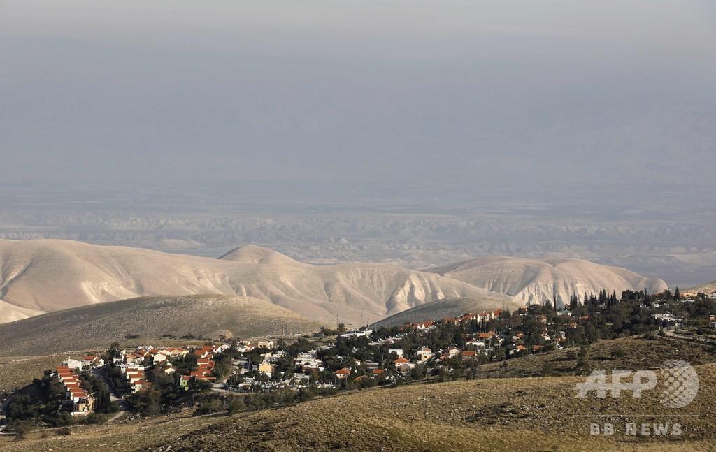 退任間近のイスラエル国防相、ヨルダン川西岸の入植地拡大を承認