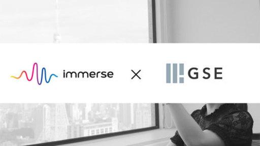 Edtechベンチャー immerse(イマース)× GSE、VR学習プラットフォームパートナーシップ提携