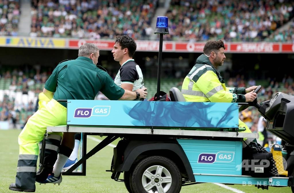 日本と対戦のアイルランド、イタリアに快勝も控えSOが足首負傷