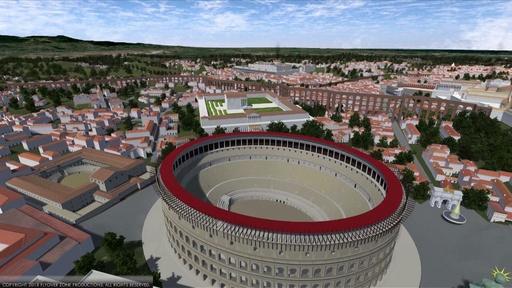 動画:古代ローマをVRで再現