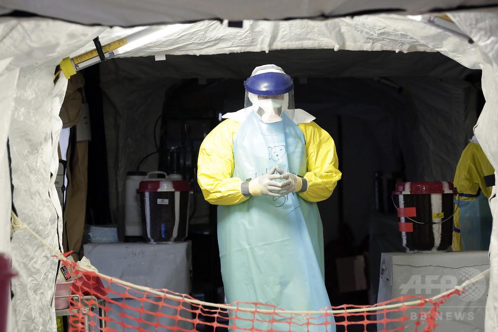 エボラウイルス、突然変異で治療薬無効化の恐れ 米研究