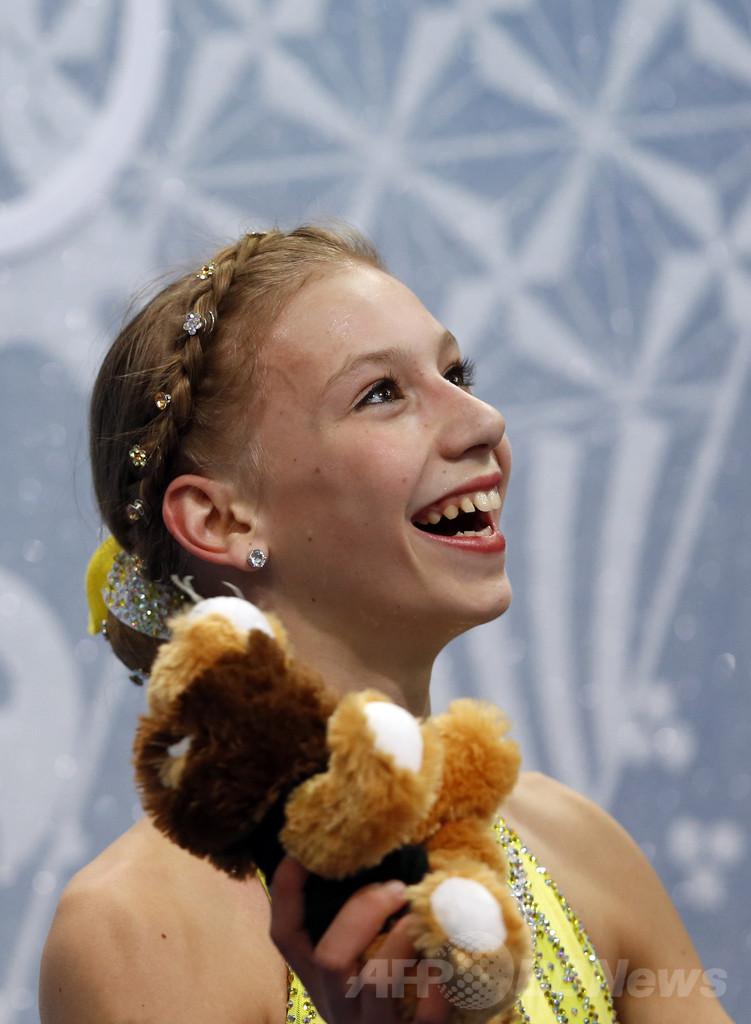 フィギュア女子SPで7位のエドモンズ、ソチ五輪