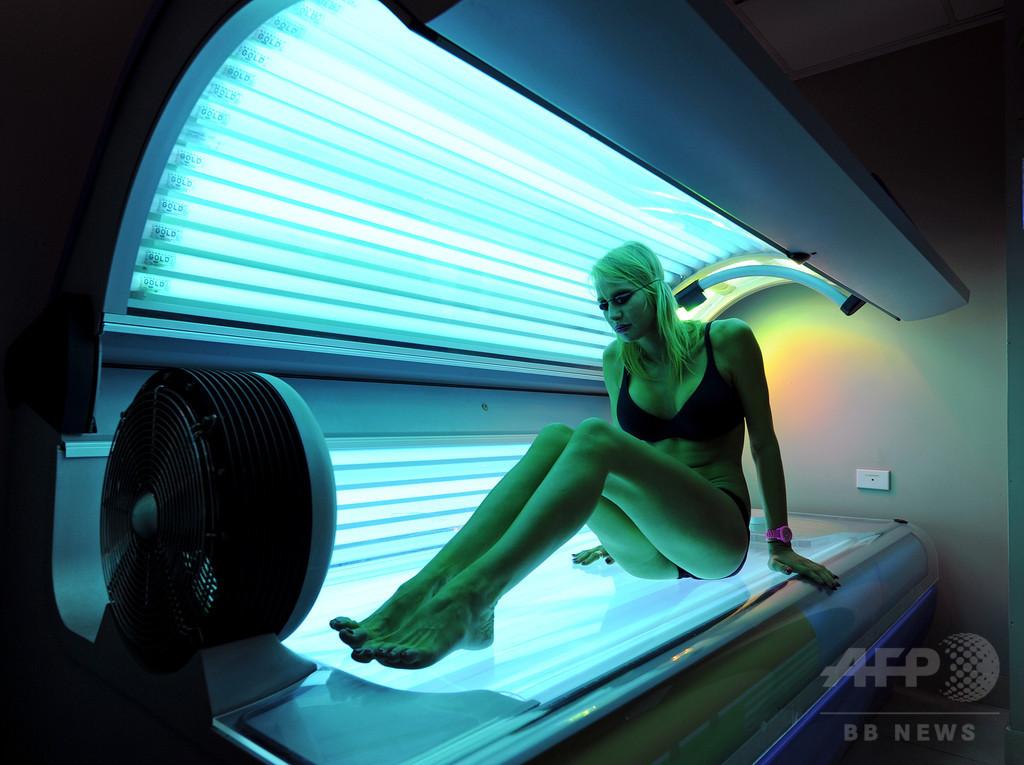 豪州、日焼け用ベッドの商用利用禁止 がんリスク懸念で