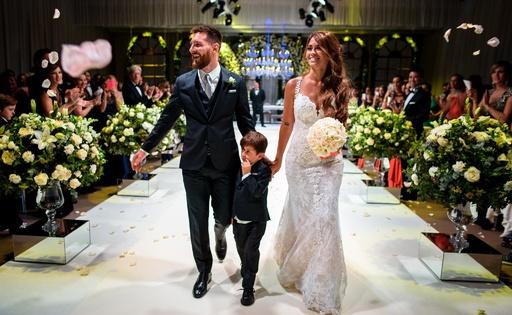 【特集】写真で振り返るスポーツ選手の結婚式