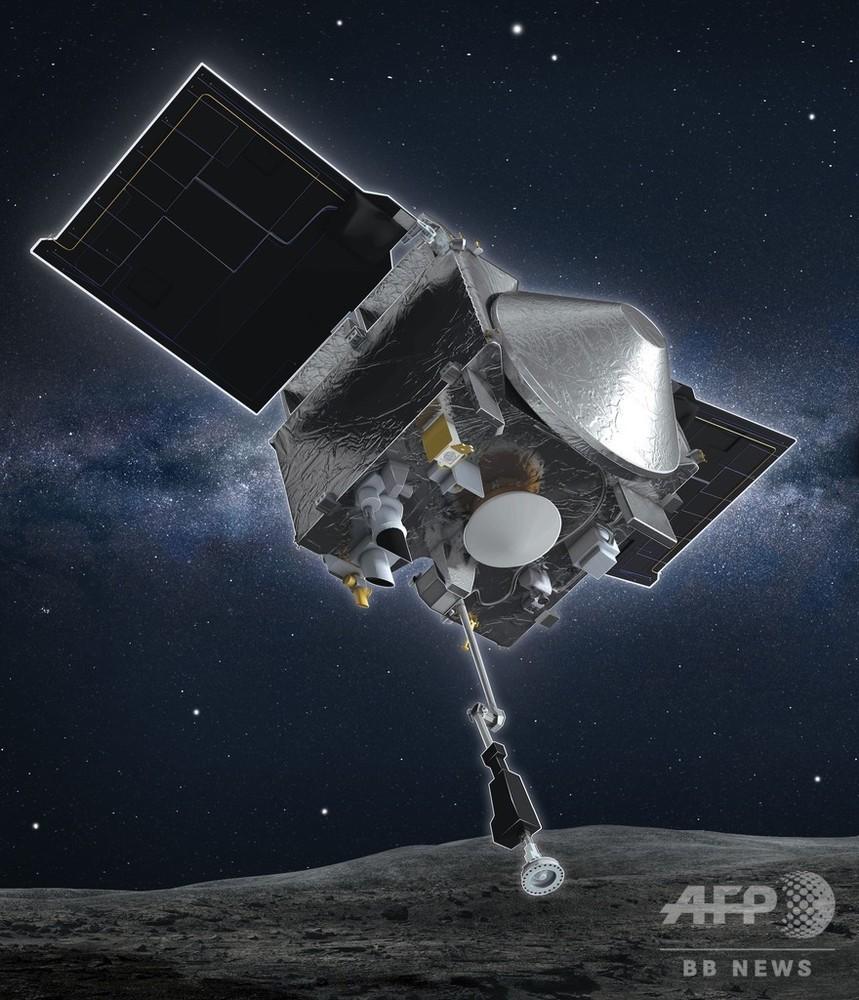 米NASA探査機、小惑星で採取のサンプルが大量流出