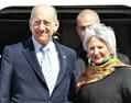 イスラエルのオルメルト首相が来日