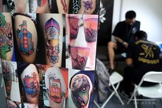 タトゥー顔料、体内深く浸透する恐れ 研究