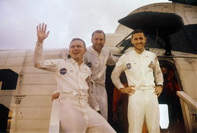 アポロ8号の打ち上げから50年、人類初の有人月周回飛行