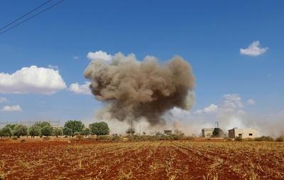動画:ロシアがイドリブ県に過去1か月で「最も激しい」空爆 シリア人権監視団