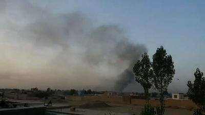 動画:タリバン、アフガン都市に大規模攻勢 軍が応戦、米軍も支援