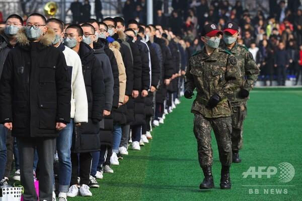 韓国の若者に広がる徴兵制への嫌気 「北朝鮮は敵ではない」