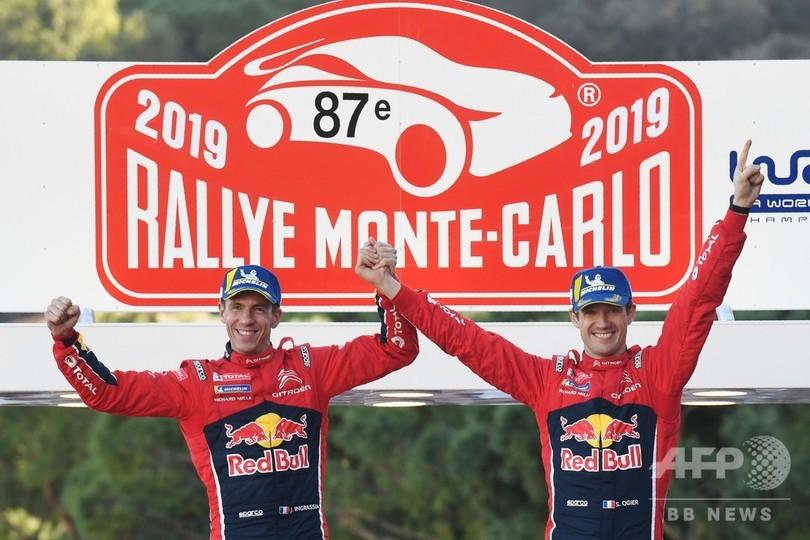 シトロエン復帰のオジェがラリー・モンテカルロ6連覇、開幕戦を白星で飾る