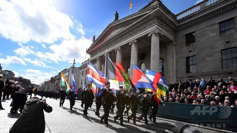 イースター蜂起100年で史上最大の追悼式典、アイルランド