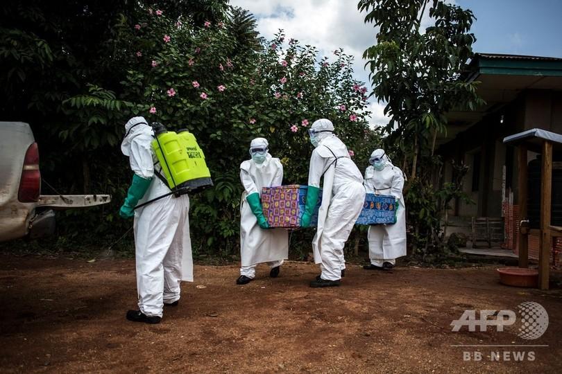 コンゴのエボラ出血熱再流行、死者67人に 新薬で退院者も