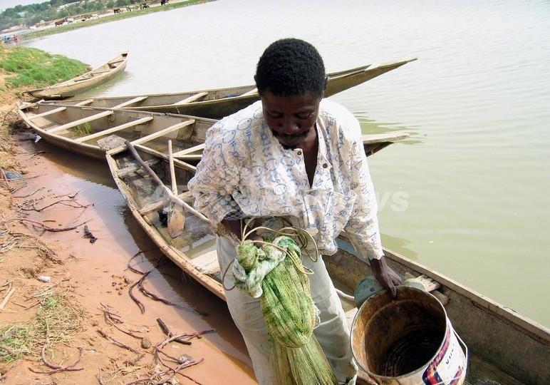 ニジェール川で「環境難民」大量発生の危機、西アフリカ諸国が救済計画
