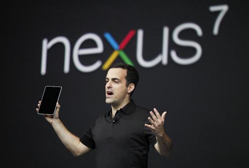 米グーグル、タブレット端末「Nexus 7」を発表
