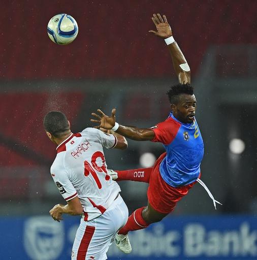 引き分けたチュニジアとコンゴ民主共和国が準々決勝へ、アフリカネイションズカップ