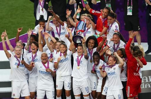 熊谷所属のリヨン、女子欧州CLで4連覇を達成