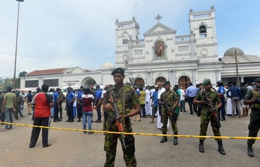 スリランカ、高級ホテルや教会6か所で爆発、137人死亡
