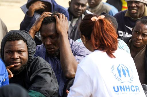 リビアで人身売買業者が国連職員になりすまし、移民を虐待か