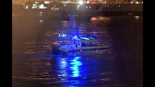 動画:ドナウ川で遊覧船沈没、韓国人7人死亡19人不明 ハンガリー首都