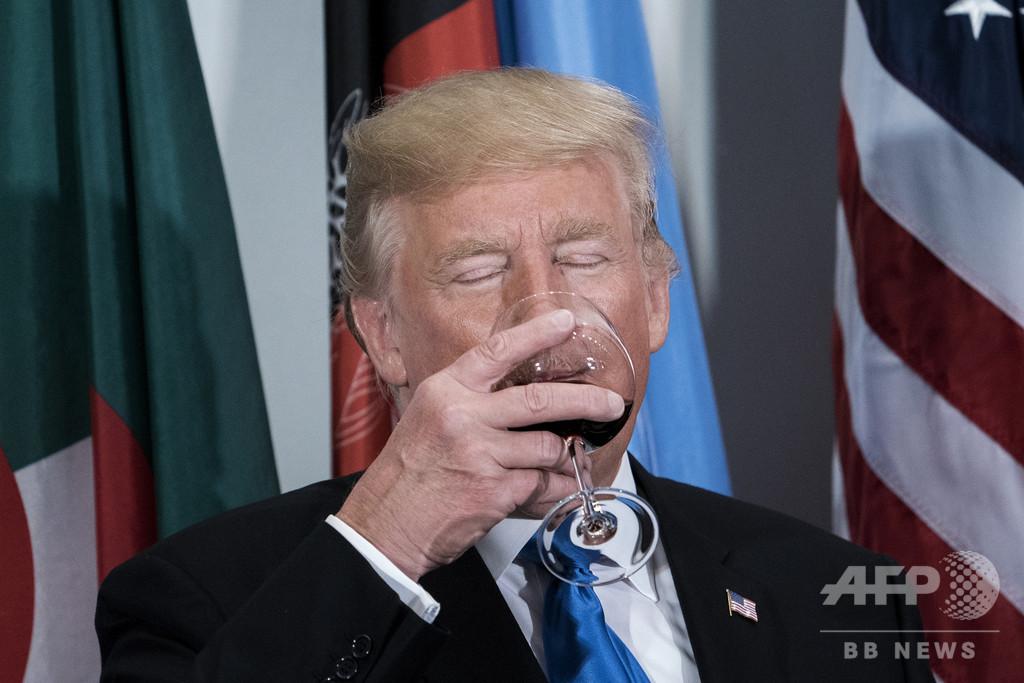 下戸のトランプ氏が自虐ジョーク、「飲酒していたら世界最悪」