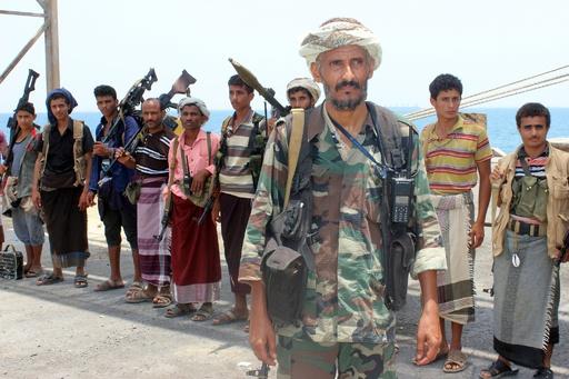 イエメンの反政府武装組織フーシ派、主要港から撤退 国連