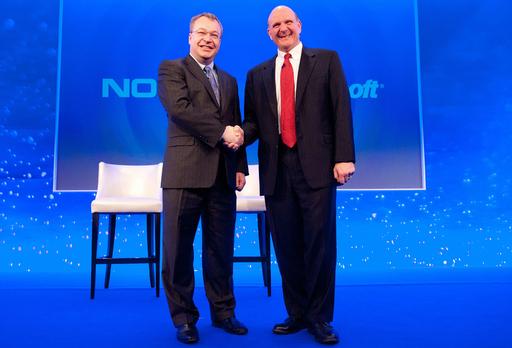 ノキアがMSと提携、ウィンドウズフォン端末の年内発売めざす