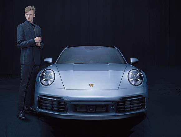 スタイリスト・祐真朋樹が提案!「乗る車×着る服」  PORSCHE 911 CARRERA S× FENDI