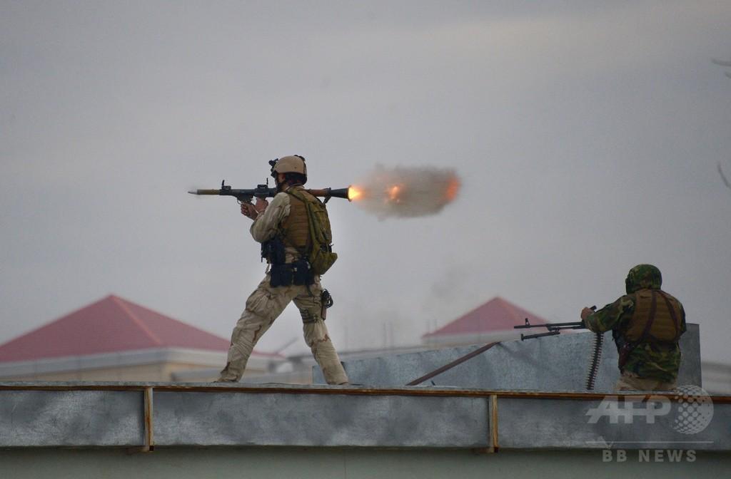 アフガンのインド領事館襲撃、発生から25時間後に終結