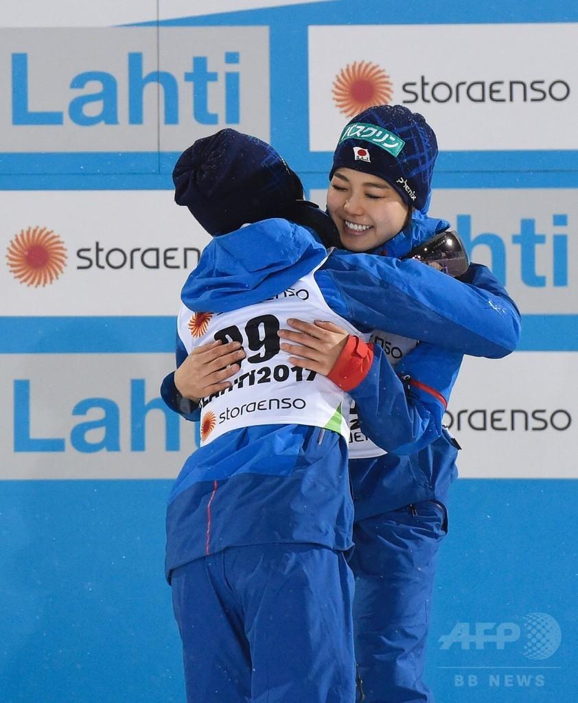 ジャンプ女子で伊藤が銀、高梨が銅 ノルディック世界選手権