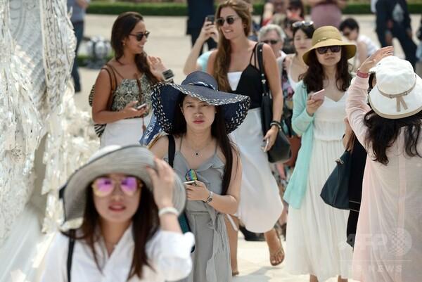 タイ、増える中国人観光客に「歓迎」と「批判」
