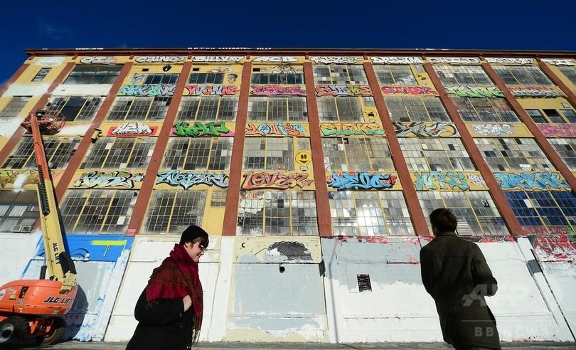 落書きアート消した開発業者に賠償命令7億円超、米NY